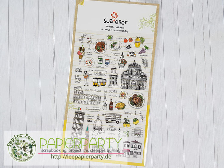 Suatelier Roman holiday clear Sticker