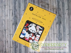 Suatelier lovely pandas seal sticker
