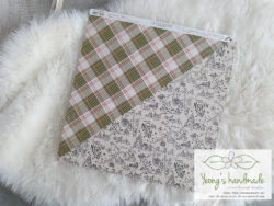 10006.Diagonal Plaid _ Yeongs Handmade