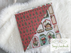 10022. Tags, Classic Christmas _ Yeongs Handmade