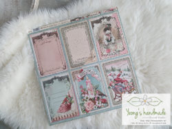 10025. Cards Pink Christmas